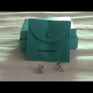 Rare Tiffany & Co X Earrings
